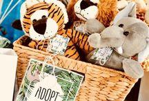 PARTY STYLING | JUNGLE SAFARI / Hugo's Jungle Safari 1st Birthday Party