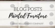 Blog Posts - Painted Furniture | Dixie Belle Paint / Great Blogs to Follow, Home Decor Blogs, Painted Furniture Bloggers, Top Ten Bloggers, Love Bloggers, Chalk Paint Furniture Blogs