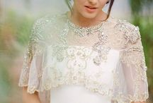 Bridal Caplet / Finish your bridal look with a gorgeous lace or rhinestone caplet.