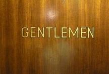 Gentlemen / by Brittany weeks