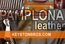 Pamplona Leather / Our newest selection of European tanned and finished hides. Find it at Keystonbros.com!