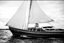 Belize Sailboat & Catamaran Weddings / Belize sailboat weddings and catamaran weddings.  Sail away into the sunset with the love of your life.