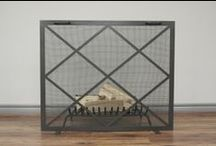 Anvil Fireplace Screens / Fireplace Screens hand Crafted in Canada By Anvil Fireside