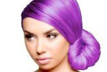 Cotton Candy Hair / From hair extensions and hair color rubs that add fun, color and sparkle— if you're in the market for vibrant, fun hair dyes or mixing up your look then this board is for you!