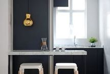 Small kitchen inspiration / Headlines describes it just fine.