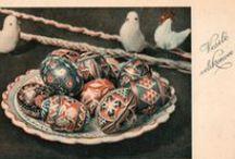 Velikonoční pohlednice / Velikonoční pohlednice, starší, minulé století