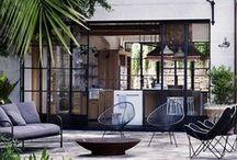 PORTSEA OUTDOOR STYLING / furniture ideas for front courtyard area and beyond...