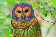 Owls / Owls, owl ornaments, owl tea light holders, owl lanterns, owl lamps, owl gifts, handmade owls