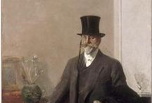 William Merritt Chase / Certain turn of the century artists I find very compelling. Sargent of course but William Merritt Chase is another. They make it look so effortless.  / by Jack Miller