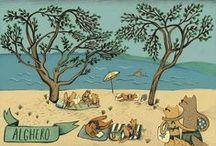 KIKO illustration / Illustrations by Eszter Kiskovacs https://www.behance.net/eszterkiskovacs