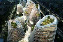 Architecture / Architecture, buildings, monuments, futuristic designs, design