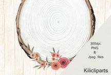 wood Wreaths / Boho wedding, Wedding invite, wood Wreaths, wedding flowers, Floral Wreaths,