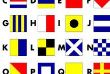FLAGS flags, sailing flags, ensigns, banner, ensign / flags, pennants, ensigns, flag alphabet, yacht flags