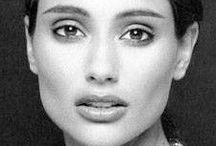 Brenda Schad ... Native American model.
