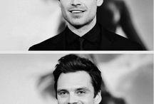 Sebastian Stan / Photos of my present husband <3