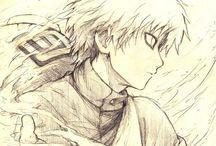 Naruto-Sabaku no Gaara / Gaara pics <3 One of my fav sentimental characters ;-;