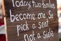 Wedding Signs and Saying