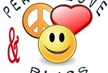 Peace, Love, & Bliss / Seek Peace within Love Urself deeply Live in Bliss