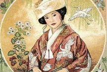 X-stitch Japanese