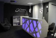 Reception desks PROJECTS / How you office can look like? Office furniture projects by MDD.