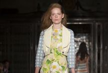 SPRING - SUMMER 14 / This season Ong-Oaj takes you to a moonlit summers evening. The smell of roses and rebellion in air, as the girls leave the ball and head for a mischievous adventure. #LFW #SS14 #OOPSS14