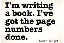 Writer Humour / Writing Funnies