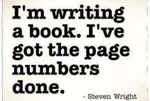 Writer Humour / Writing Funnies