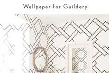 Walls / Dress up your walls with trendsetting wallpaper designs & wall decor. / by Guildery