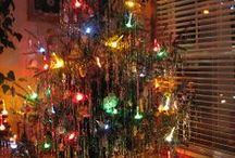 christmas vintage trees / Old picture of christmas tree / by Halloween on Auburndale st.