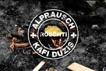 Rösti on Fire / We got together with the crew of the Duzis Coffee in Zurich to create the perfect swiss Rösti. On a fire, that goes without saying....