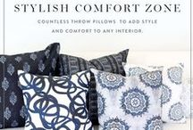 Pillow Play / Play up any room with decorative throw pillows.  / by Guildery