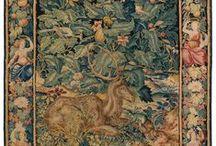 """Tapisseries """"Feuilles de Choux"""" / Tapisserie - Feuilles de Choux - Flandres - XVIe siècle Galerie Armand Deroyan Paris"""