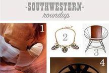 Southwestern Inspired Looks / Design, home decor, culture and landscape. / by Guildery