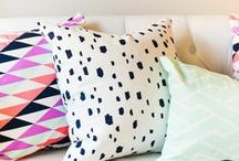 Pillow Play / Pillows that compliment artwork / by Guildery