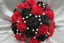 Fabric flowers bouquet / piękne ręcznie robione bukiety z materiałowych kwiatów na każdą okazję