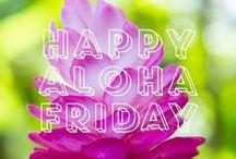Happy Aloha Friday / Photos courtesy of the University of Hawai'i at Mānoa's Facebook page. https://www.facebook.com/uhmanoa