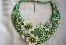 My work-My Beadwork - Necklaces & Pendants / handmade