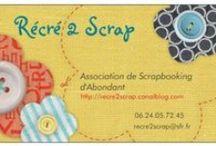 Récré 2 Scrap / Nous sommes une association de scrapbooking située à Abondant en Eure et loir. Nous nous réunissons 1 vendredi sur 2 de 20h00 à 22h00 ! N'hésitez pas à nous rejoindre