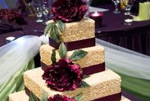 Wedding Cakes / Unique wedding cake ideas that are sure to compliment your style on the big day. Your wedding day should be lively and full of delicious food, which starts with the cake!