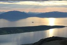 Lyngen, where my heart is. / The area where I live and grew up.
