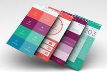 Iphone / We are one team and we design web template of our work that pin here so we create our had portfolio.