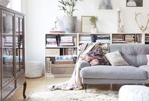 Living room inspiration / How my dream living room would look like. Eclectic meets French with a variety of classic Scandinavian designs.