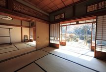 A space to meditate. / Japanese traditional rooms.