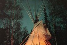 Teepee project / Feeling at home