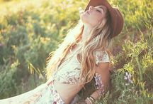 Festival Fashion / Folksy florals and bohemian looks for festival season.