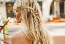 Lovely locks / Gorgeous hairstyles for special days.