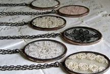 Jewelry - Lace and Fabric / by Carolyn Miller