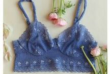 Spring Lingerie / Brighton Lace Spring lingerie collection.