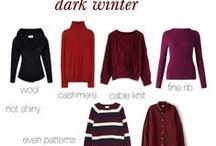 Dark Sunset Winter Fabrication / print and pattern