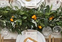 The Foliage Wedding / Guests will be green with envy over your fresh foliage wedding.